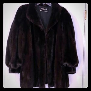 Jackets & Blazers - Mink coat